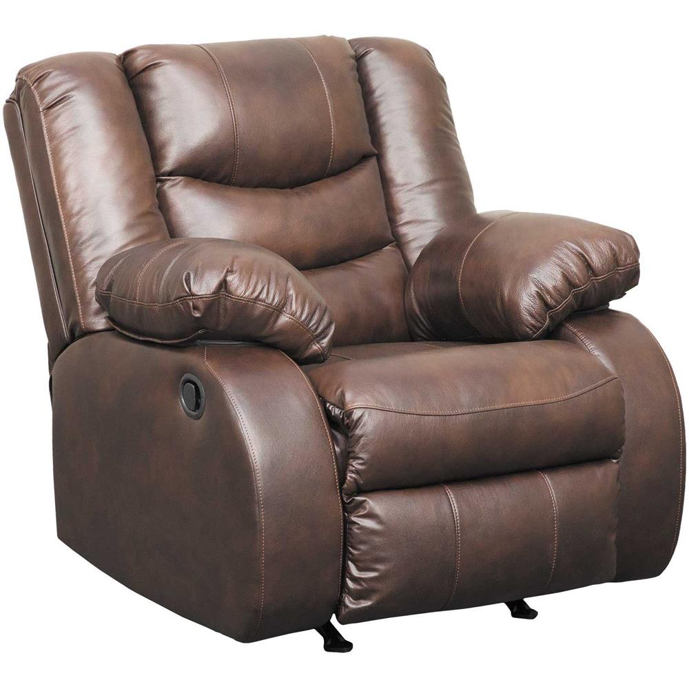 NEVERFIELD LEATHER ROCKER RECLINER